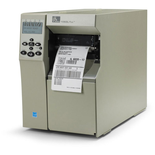 102-801-00000 - Zebra 105SL Plus Bar code Printer